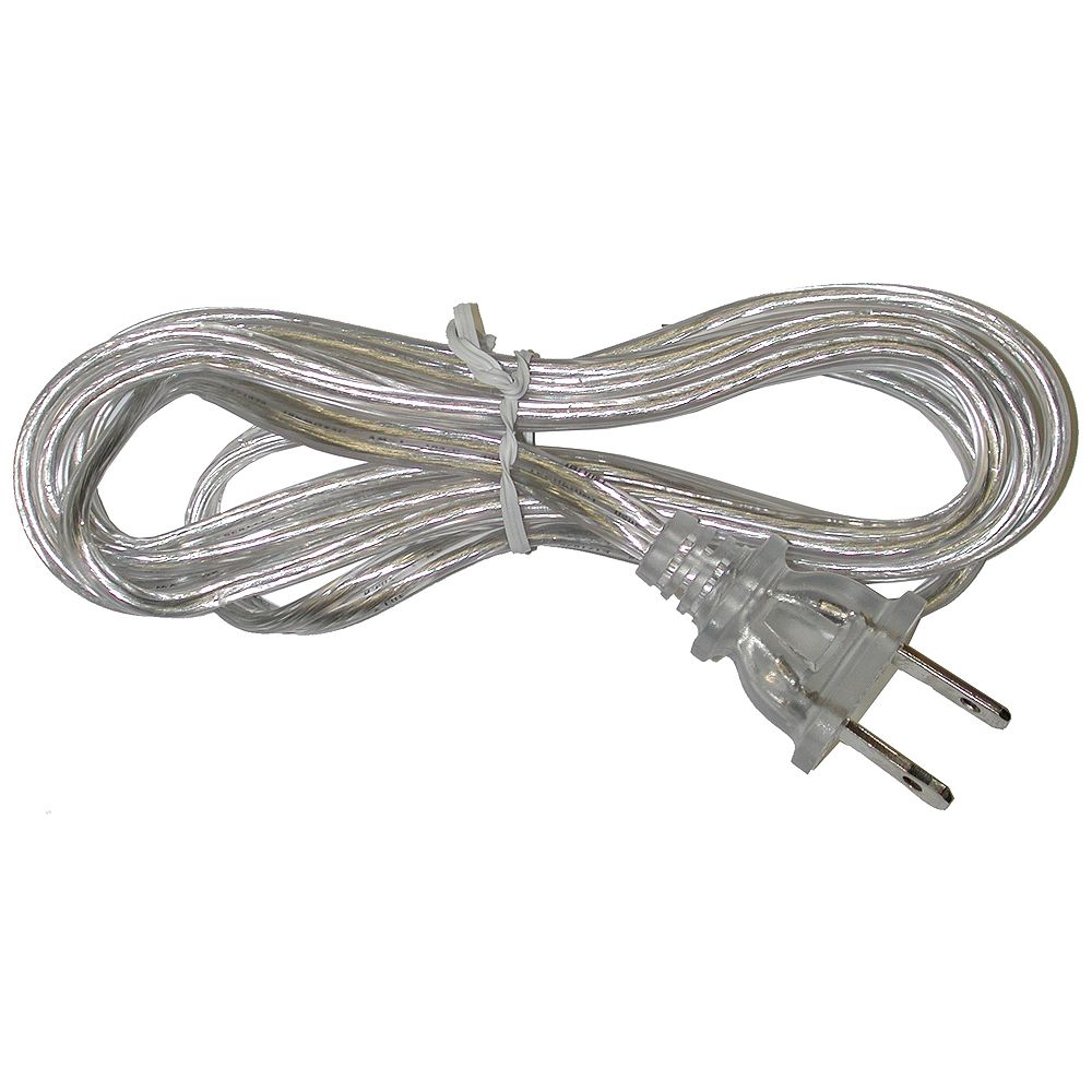 Atron Clear Lamp Cord 6 Feet The Home Depot Canada
