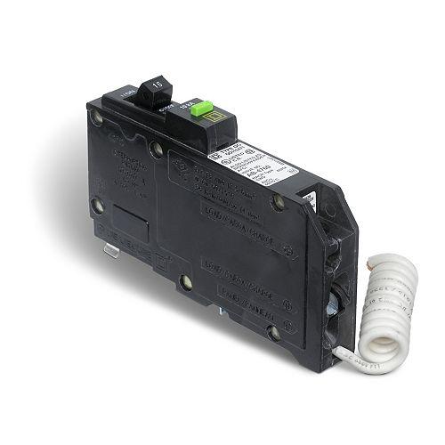 Disjoncteurs avec interrupteur de circuit de défaut d'arc QO  de 15A unipolaire