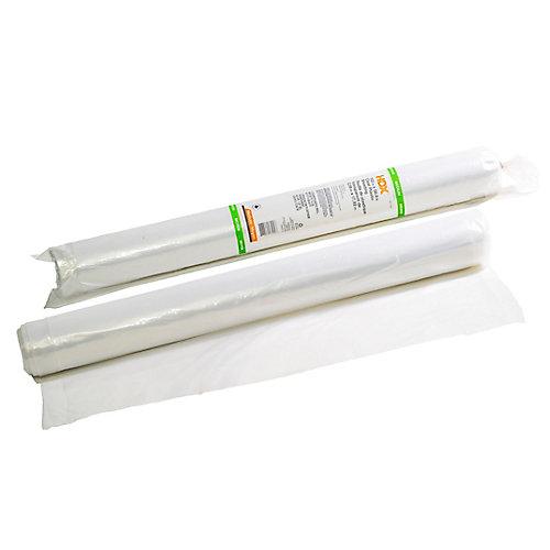 102-inch X 500 sq. ft. Medium Poly Drop Sheet