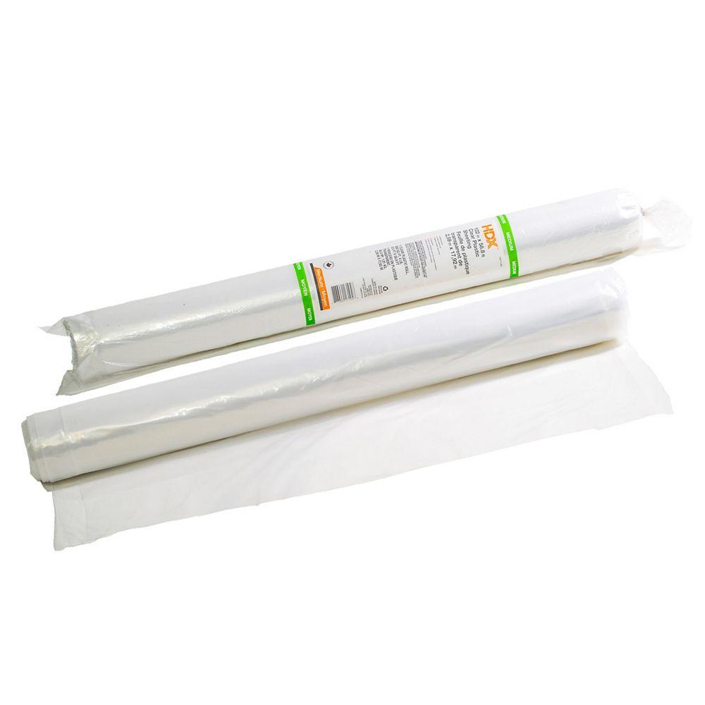 HDX 102-inch X 500 sq. ft. Medium Poly Drop Sheet