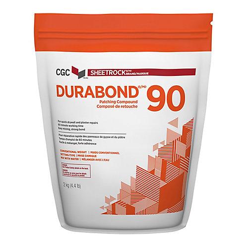 Durabond 90 Composé pour joints à prise rapide, sac de 2 kg