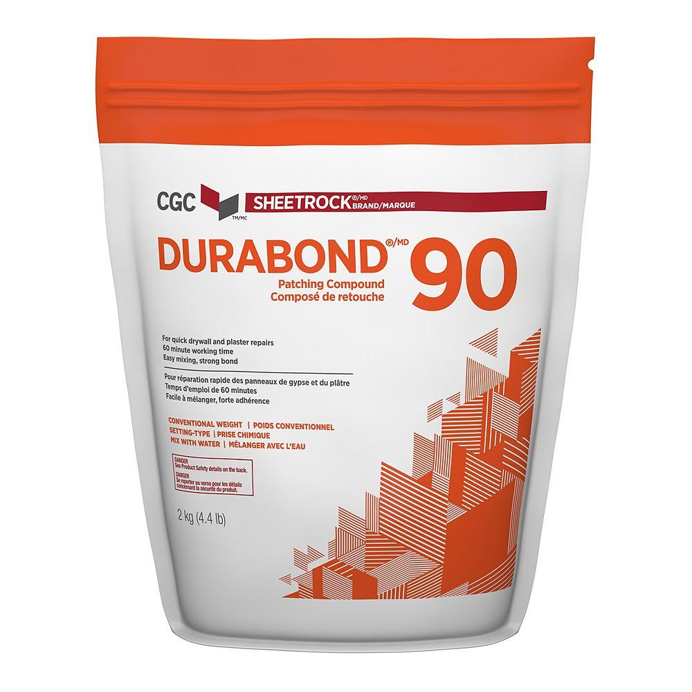 CGC Sheetrock Composé de ragréage Durabond 90, sac de 2 kg