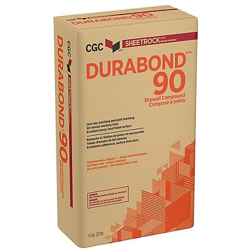 CGC DURABOND 90 Composé pour joints à prise chimique, sac de 15 kg