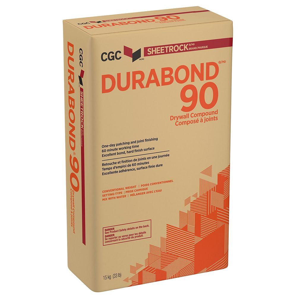 Sheetrock CGC DURABOND 90 Setting-Type Joint Compound, 15 ...