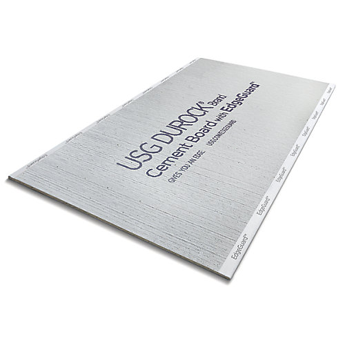 EdgeGuard Panneau de ciment 1/2 po x 32 po x 5 pi.