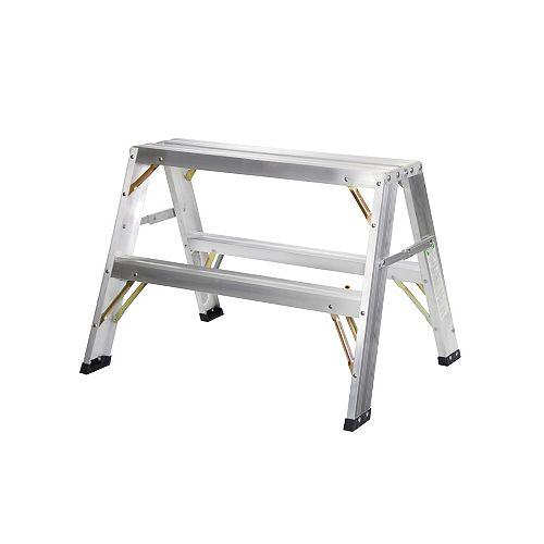Aluminium sawhorse 2pi