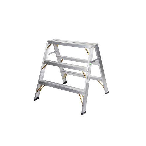 Aluminium sawhorse 3pi