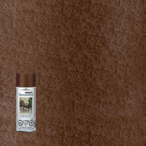 Hammered Finish Paint In Brown, 340 G Aerosol Spray Paint