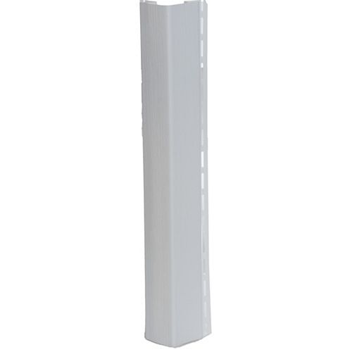1/2-inch Outside Corner Post (OSCP) White (Piece)