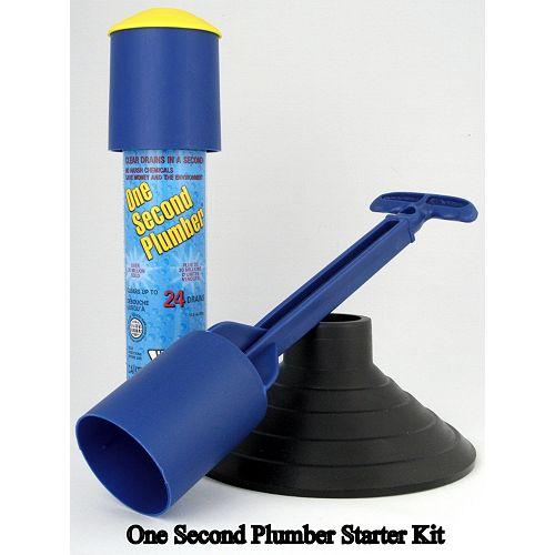 One Second Plumber One Second Plumber Starter Kit - 24 Shot