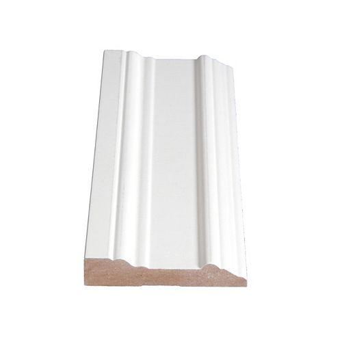 Alexandria Moulding 11/16-inch x 3 1/2-inch MDF Primed Fibreboard Casing