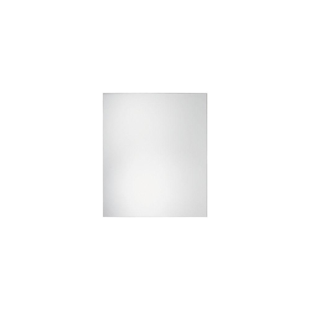 HDG Miroir mural biseauté de 20 po x 24 po