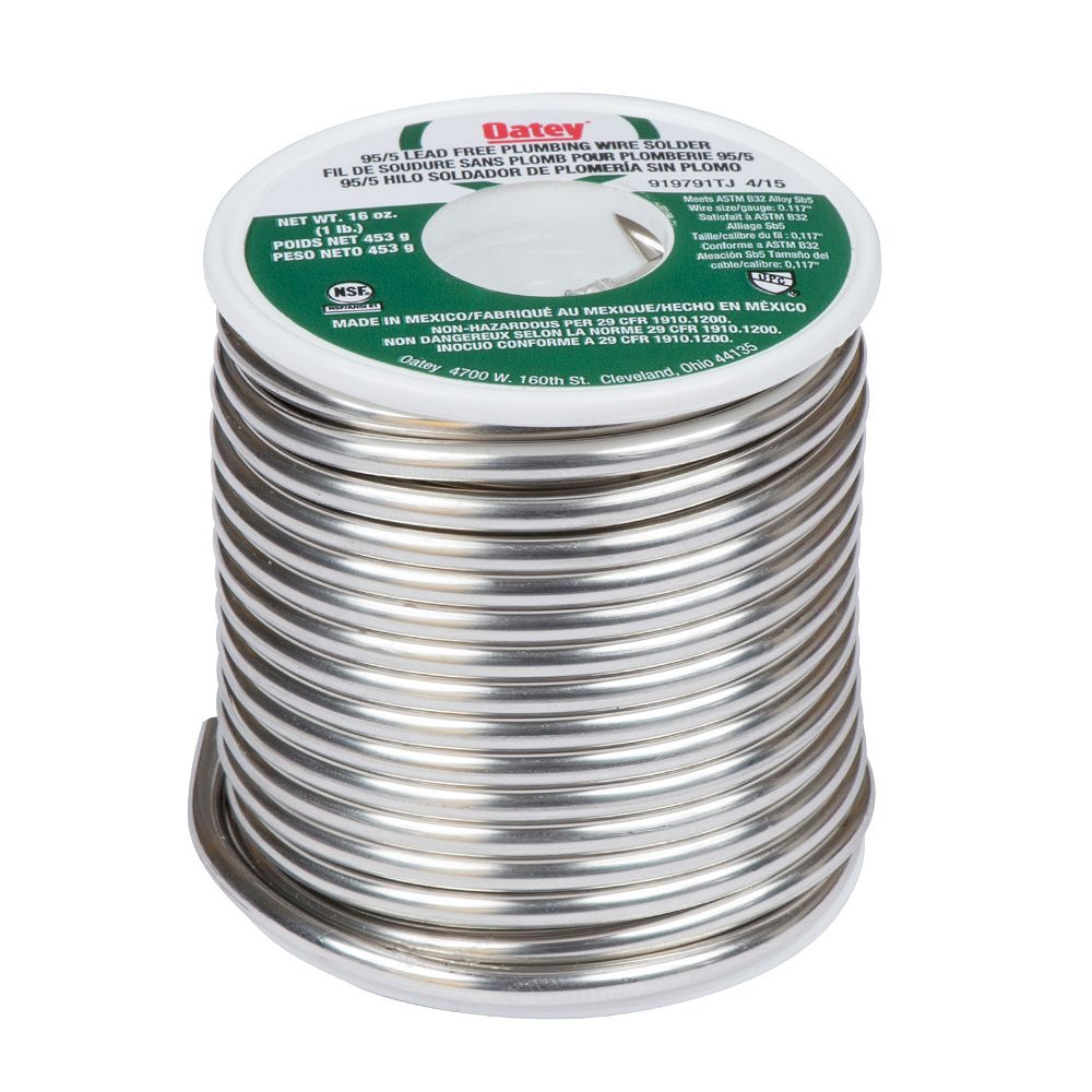Oatey 16 oz. 95/5 Lead Free Wire Solder