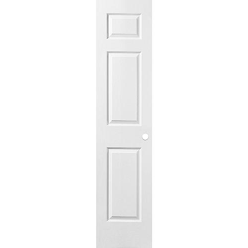 18 x 80 x 1-3/8 6 Panneau de porte pré usiné