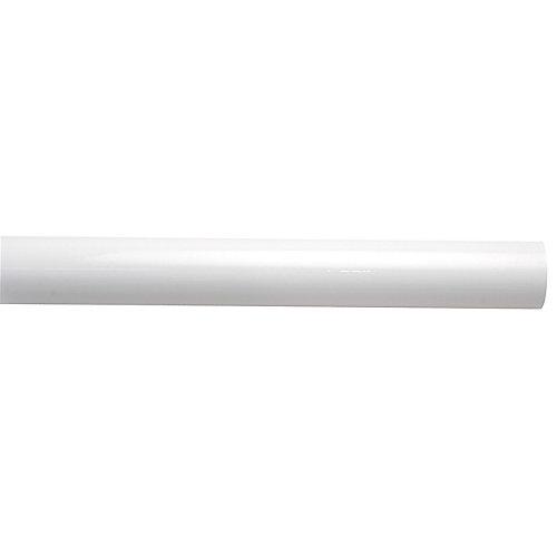 "Poteau intermédiaire blanc 1 1/2"" x 7'6"""