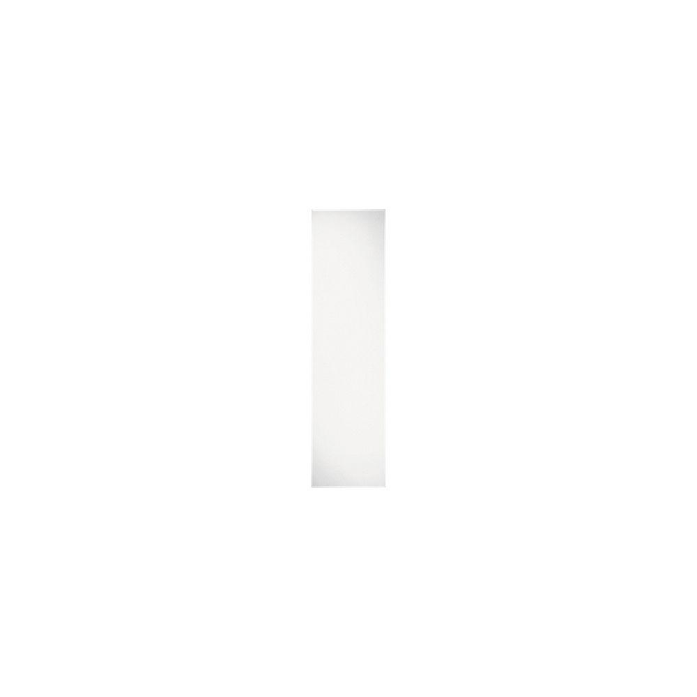 HDG Miroir de porte biseautée, 16po x 60po