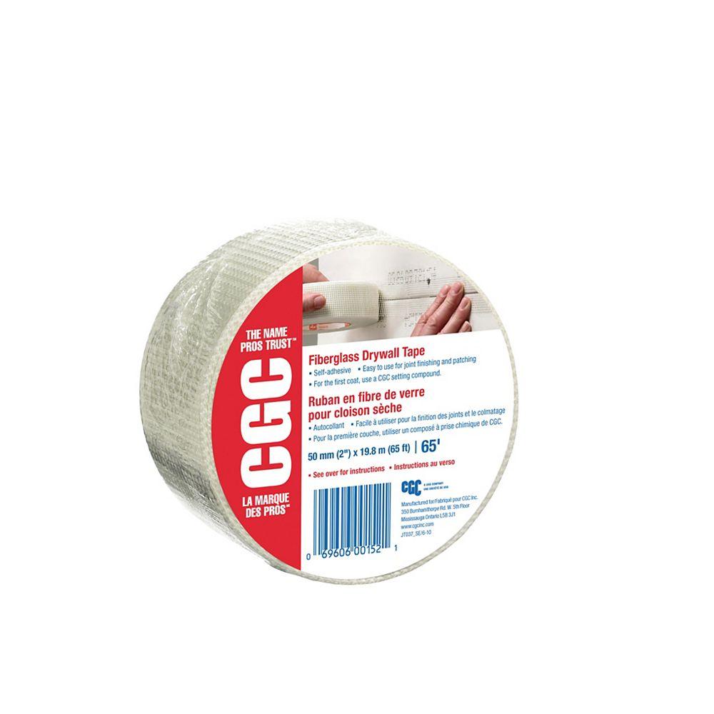 CGC Sheetrock Fiberglass Drywall Tape, 2 in. x 65 Ft. Roll