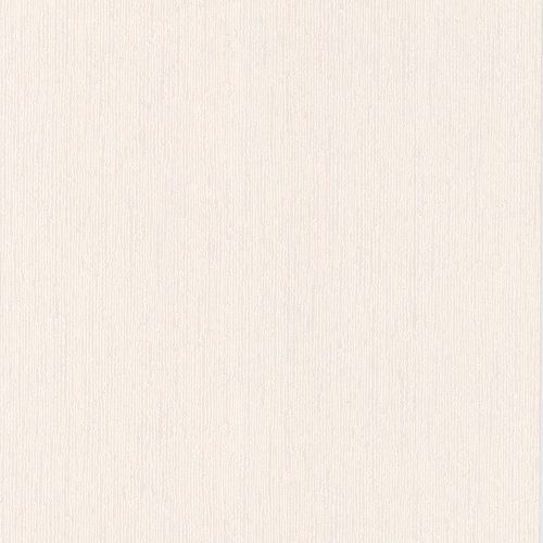 Vertical Texture Paintable White Wallpaper