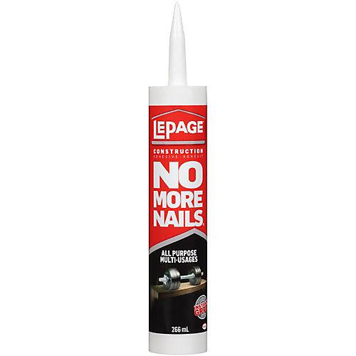 No More Nails All Purpose Construction Adhesive 266ml