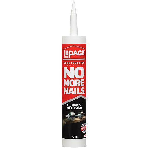 No More Nails 266mL Colle de construction tout usage