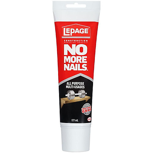No More Nails All Purpose Construction Adhesive Squeeze Tube 177ml