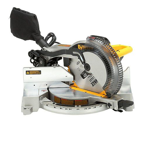 15-Amp Corded 12-inch Heavy-Duty Single-Bevel Compound Miter Saw