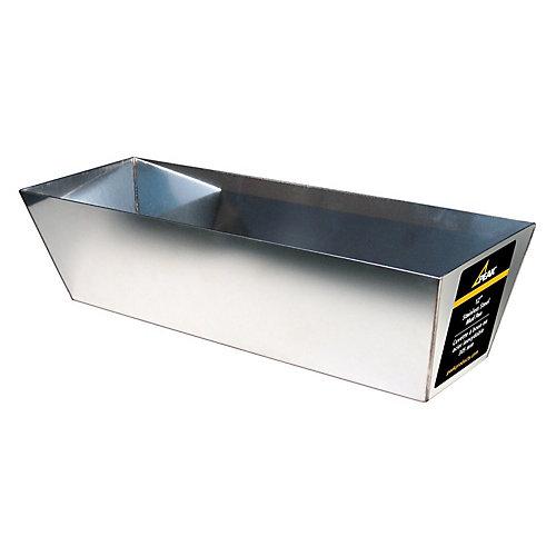 12 In. Drywall mud pan (stainless steel)