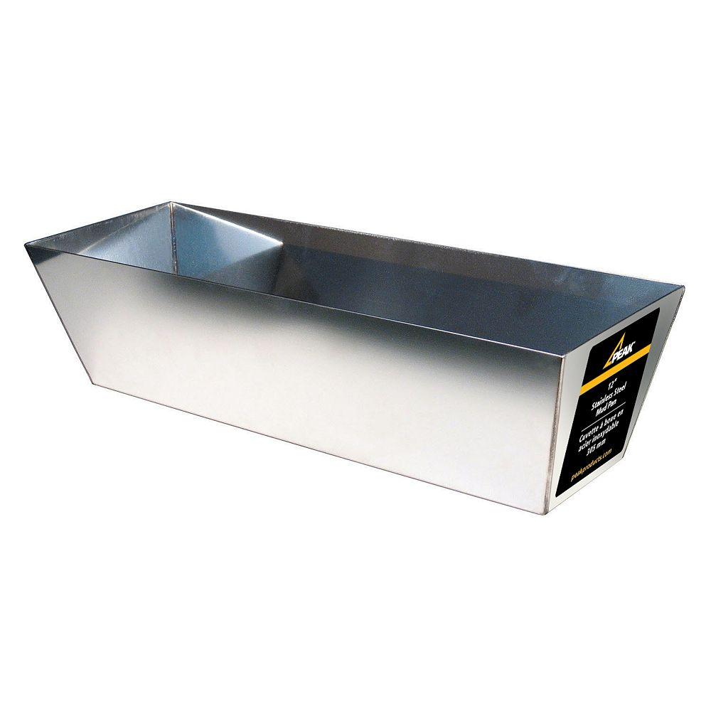 Peak Products 12 In. Drywall mud pan (stainless steel)