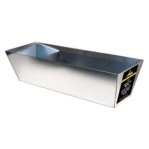 Bac à enduit pour cloison sèche, 12 po (acier inoxydable)
