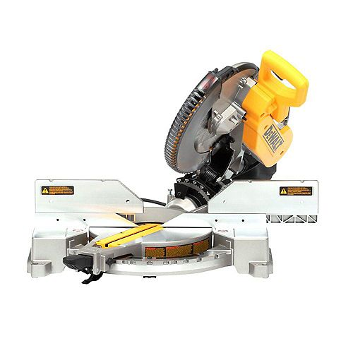 15 Amp Corded 12-inch Double-Bevel Compound Miter Saw