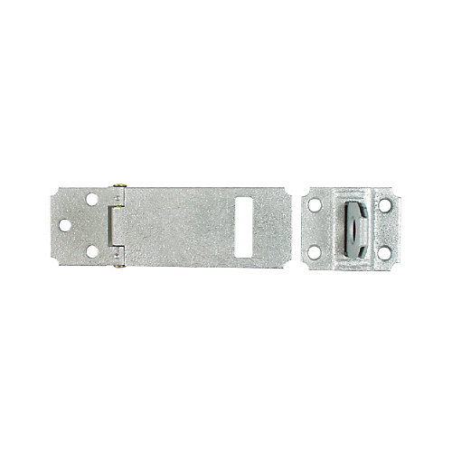 6 In. Zinc Plated(2c) Adjustable Staple Safety Hasp