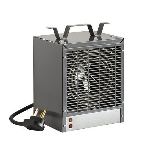 Portable Construction Heater, Grey