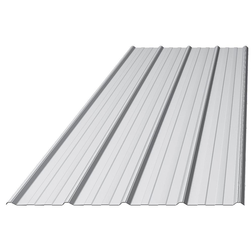 Westman Steel Panneau Nervuré Galvanisé Robuste Tough Rib De 8 Pi