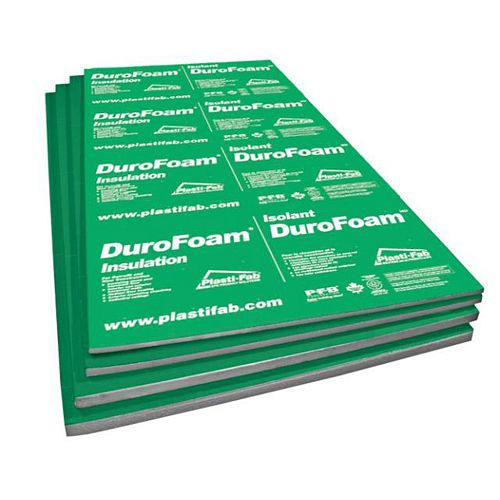 Durofoam EPS Rigid Insulation 96Inch X 48Inch X 1Inch