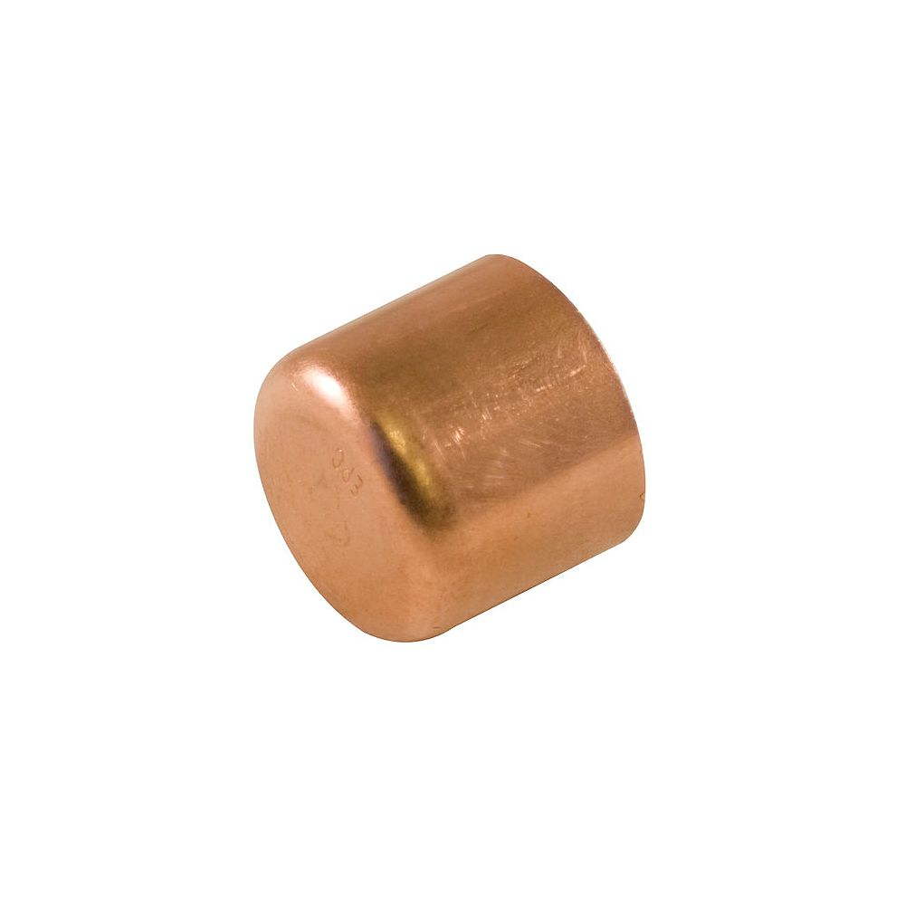 Aqua-Dynamic Fitting Copper Tube Cap 1/2 Inch