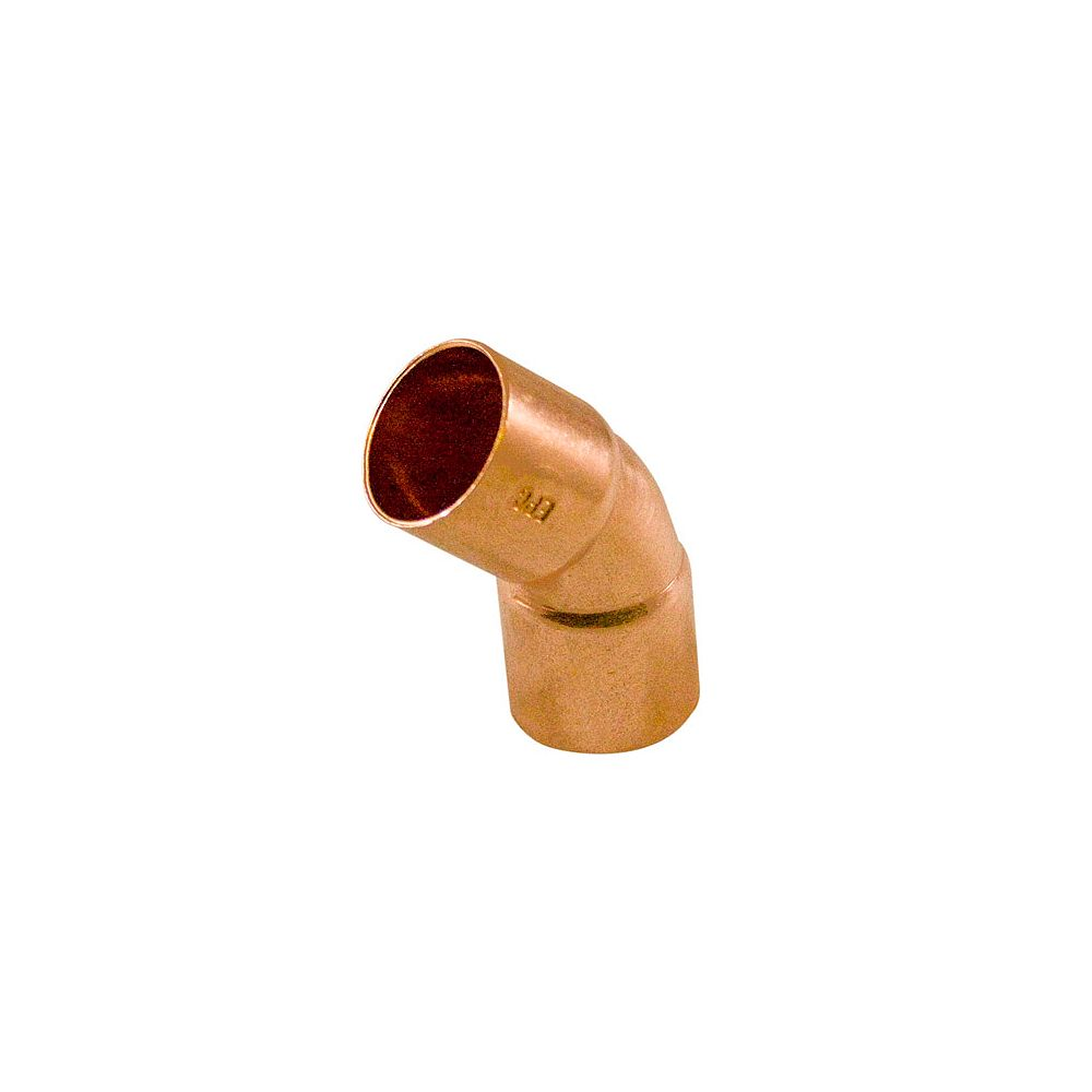 Aqua-Dynamic Fitting Copper 45 Degree Elbow 3/4 Inch Copper To Copper
