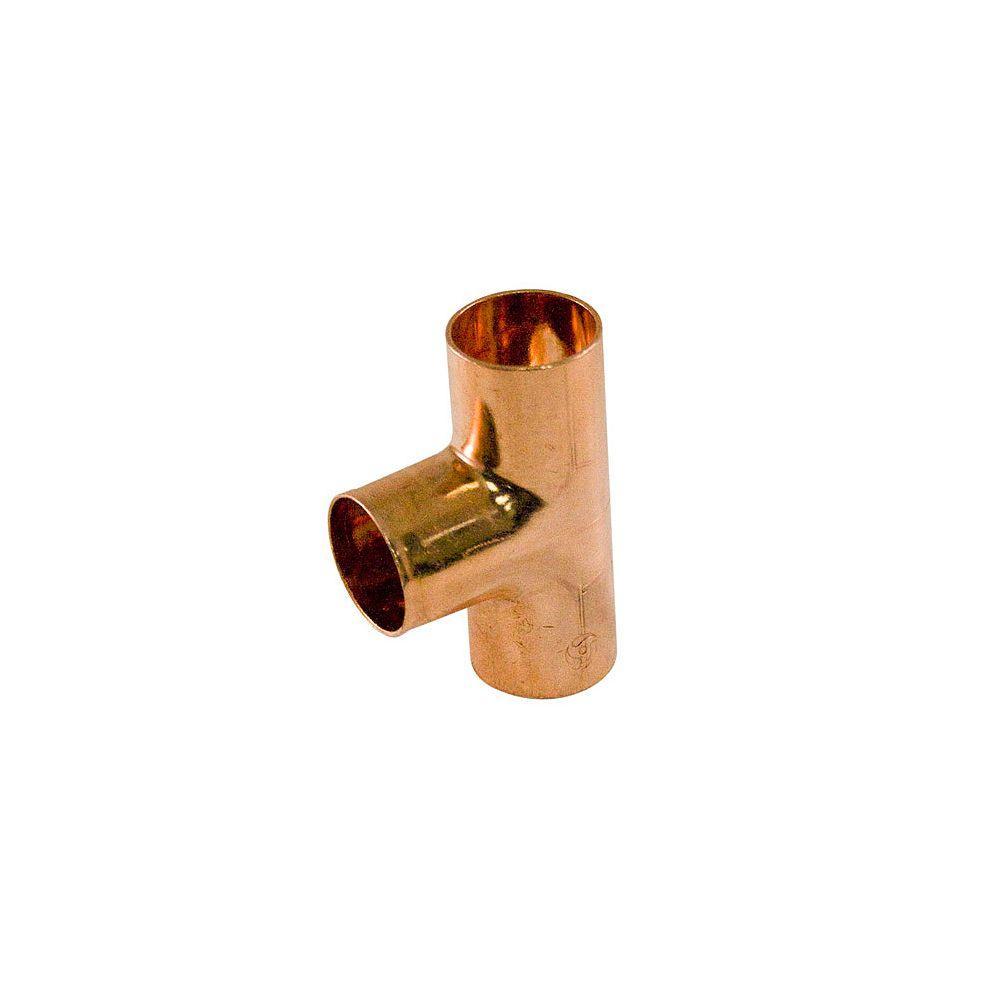 Aqua-Dynamic Fitting Copper Tee 1/2 Inch Copper To Copper To Copper