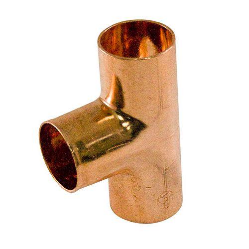 Fitting Copper Tee 3/4 Inch Copper To Copper To Copper