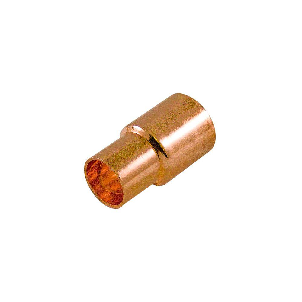 Aqua-Dynamic Fitting Copper Bushing 1/2-inch x 3/8-inch Fitting To Copper