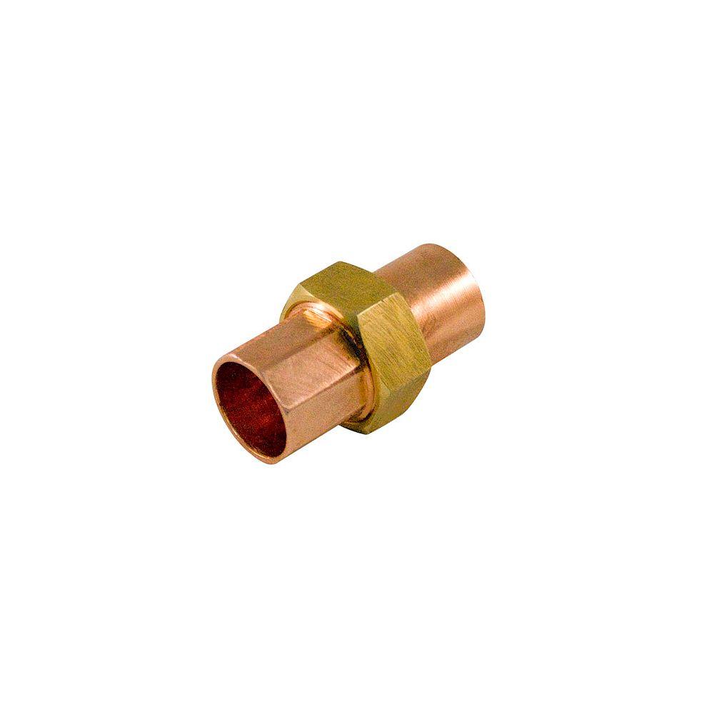 Aqua-Dynamic Fitting Copper Union 3/4 Inch