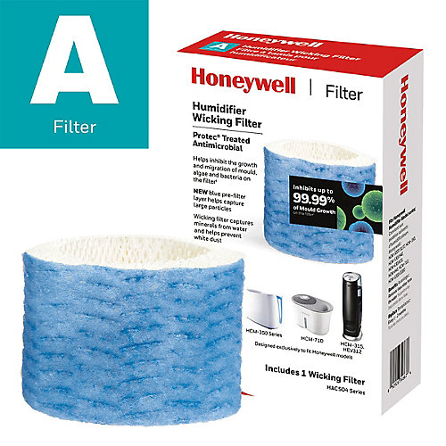Certified Honeywell Humidifier Replacement Wicking Filter, Filter A