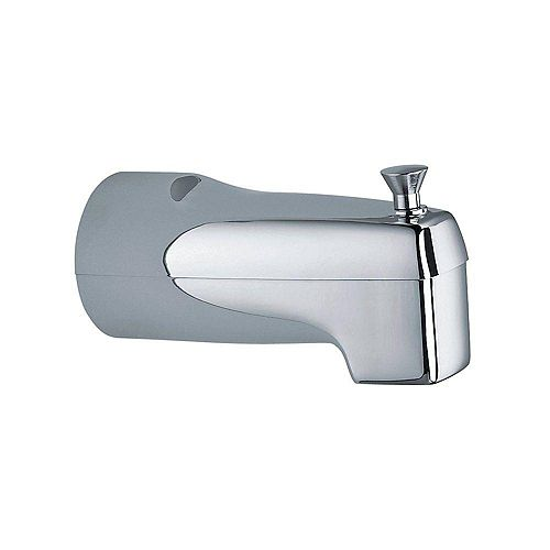 Tub Spout with Diverter - Chrome. Fits Moen
