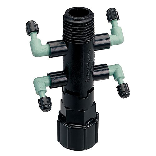 Orbit DripMaster Manifold Quaddruple