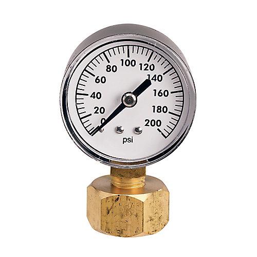 Jauge de pression de 200 lb