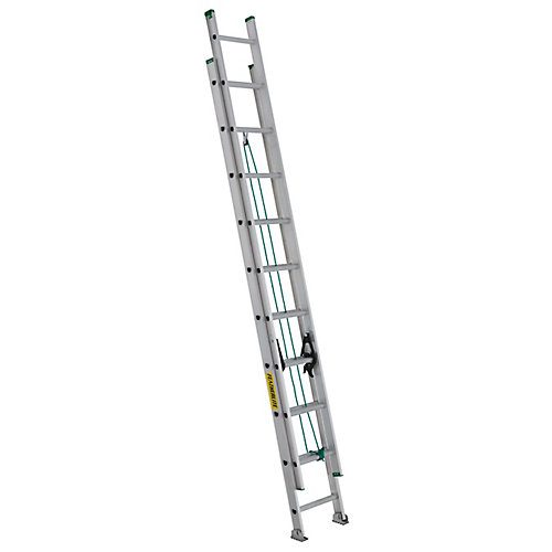 aluminum extension ladder 20 Feet  grade II