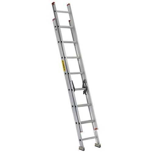 16 ft. Aluminum Extension Ladder Grade III