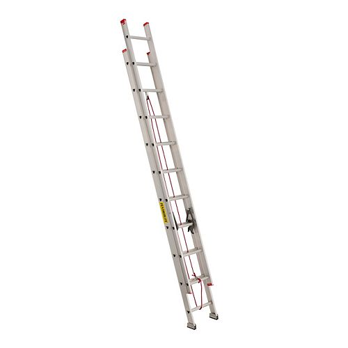 Featherlite 20 ft. Grade III Aluminum Extension Ladder