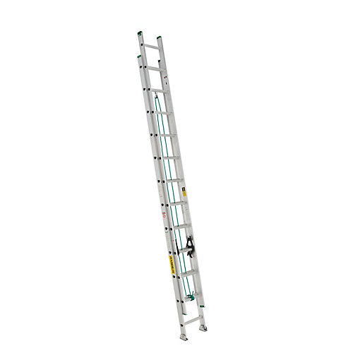 aluminum extension ladder 24 Feet  grade II