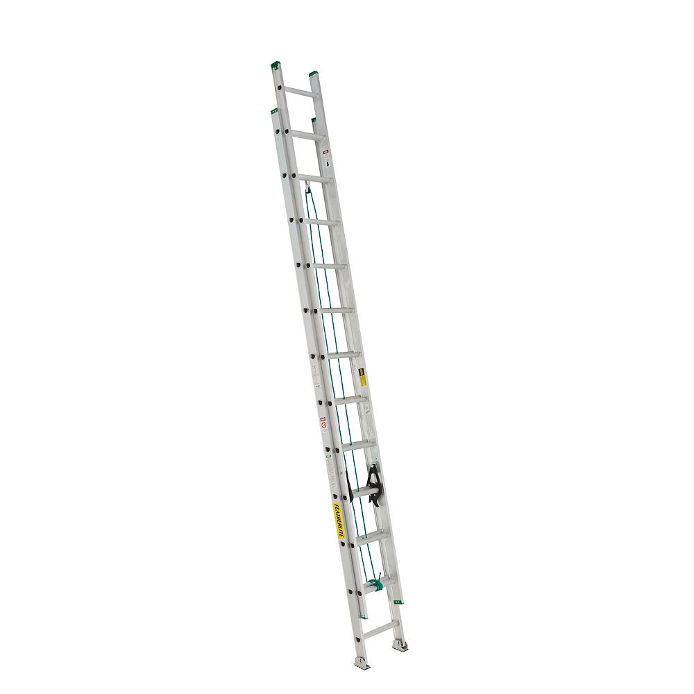 Featherlite FL-2220-24 aluminum extension ladder 24 Feet grade II