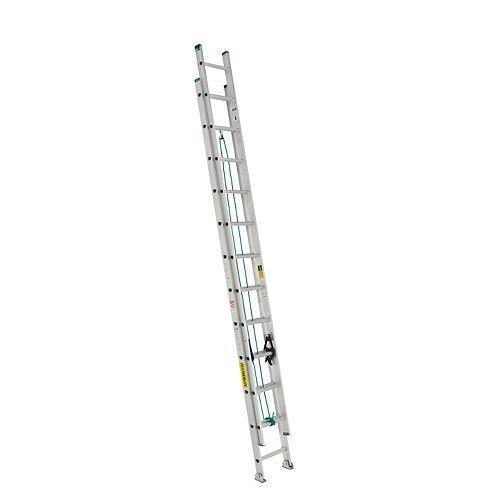 aluminum extension ladder 24 Feet  grade II